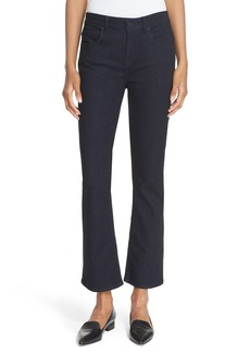 kate spade new york 'kick' flare leg ankle jeans