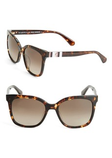 Kate Spade New York Kiya 50MM Rectangular Sunglasses