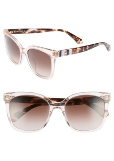 kate spade new york kiya 53mm sunglasses