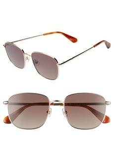 kate spade new york kiyahs 53mm gradient polarized square sunglasses