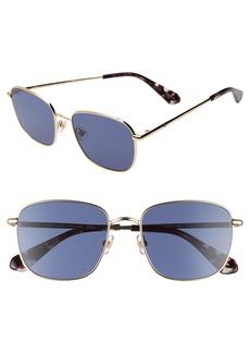 kate spade new york kiylah 53mm square sunglasses