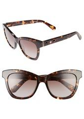 kate spade new york 'krissy' 52mm cat eye sunglasses