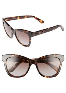 kate spade new york 'krissy' 52mm cat eye sunglasses