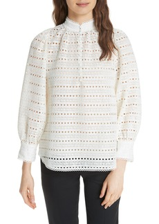 kate spade new york lace blouse