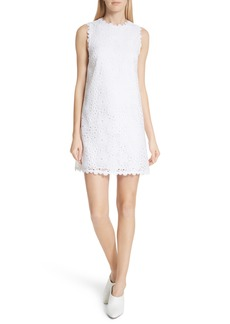 kate spade new york lace shift dress