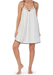 kate spade new york lace trim chemise