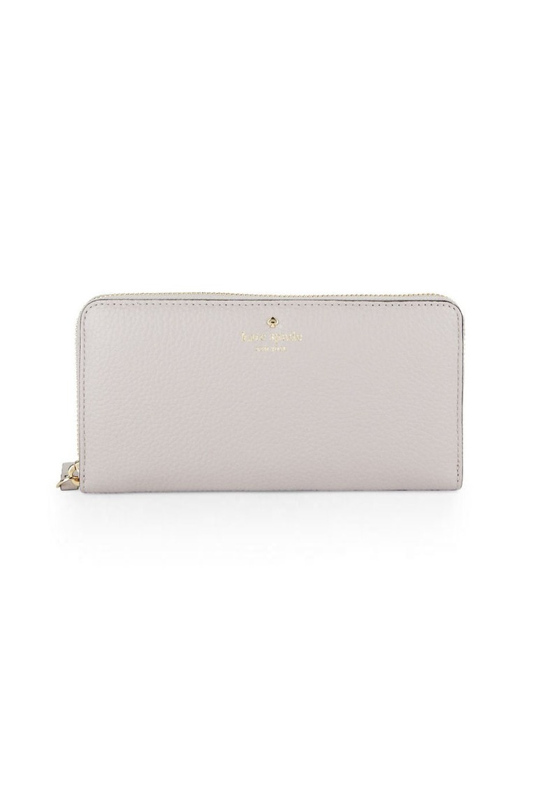 KATE SPADE NEW YORK Lacey Pebbled Leather Wallet