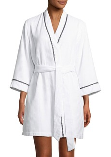 Kate Spade ladies first embroidered robe