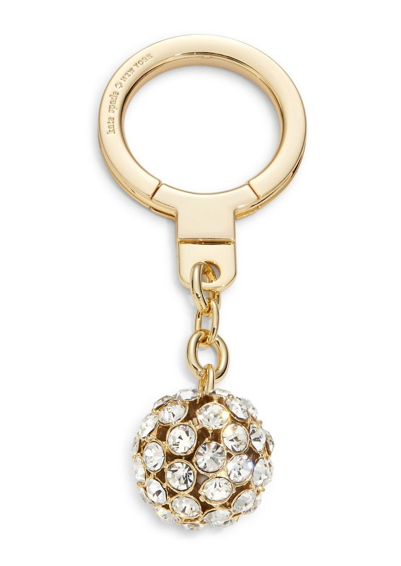 KATE SPADE NEW YORK Lady Marmalade Faceted Sphere Keychain
