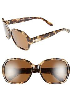 kate spade new york laney 57mm polarized sunglasses