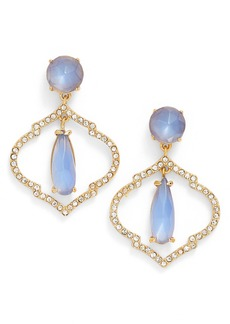 kate spade new york lantern gems drop earrings