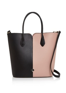 kate spade new york Large Color-Block Leather Tote Bag