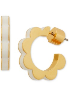 Kate Spade New York Large Scalloped Hoop Earrings, 2.6""