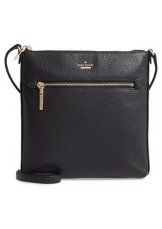 kate spade new york large shirley leather crossbody bag