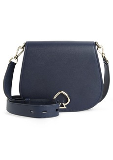 kate spade new york large suzy leather saddle bag