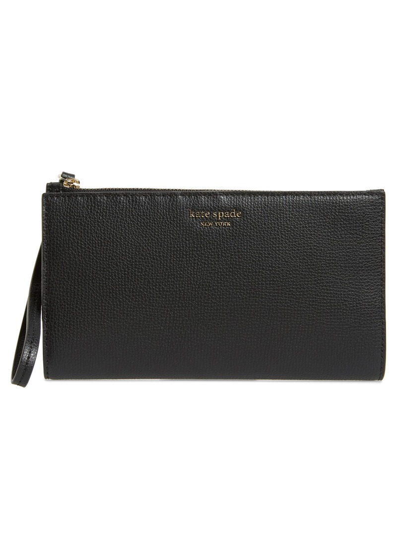 kate spade new york large sylvia leather wristlet