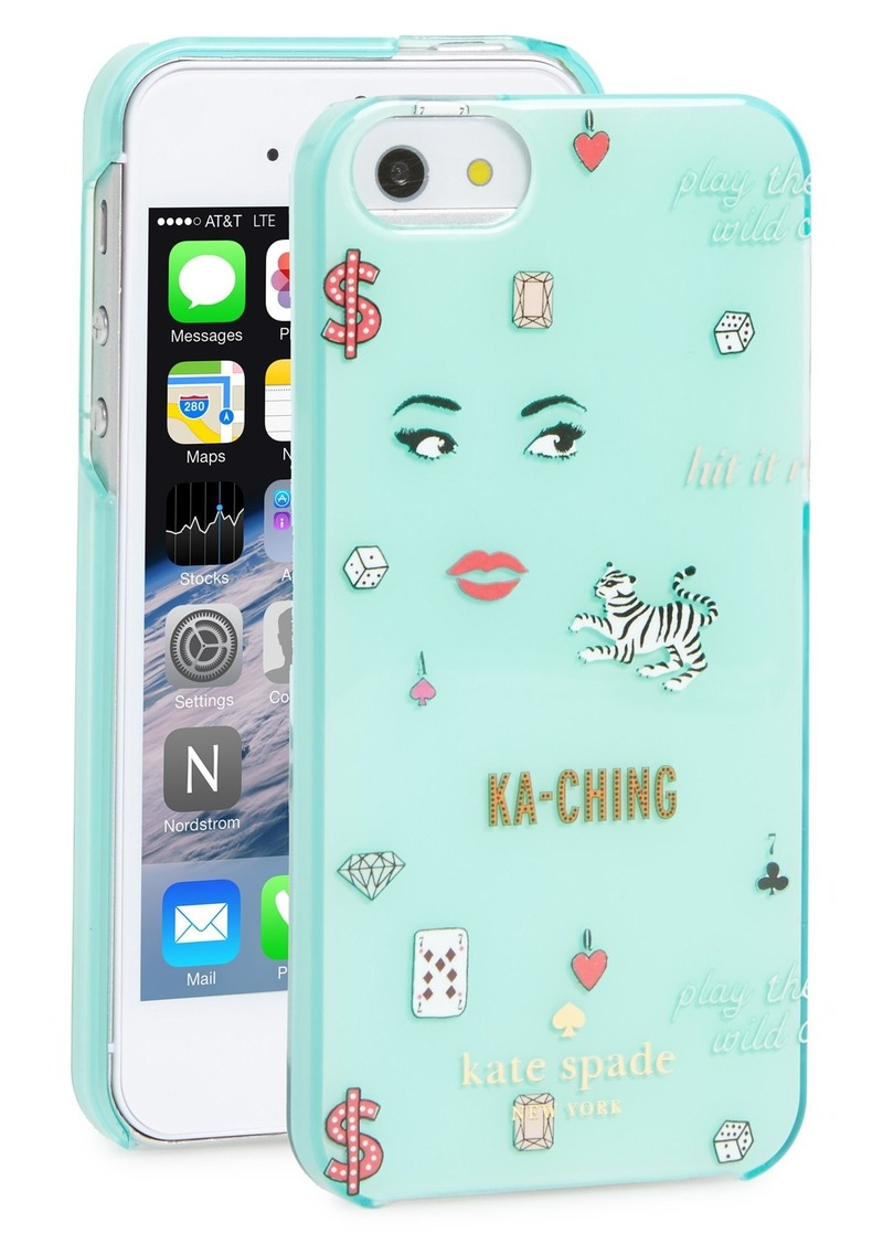 kate spade iphone 5s case kate spade kate spade new york las vegas iphone 5 amp 5s 17767