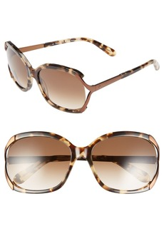 kate spade new york 'laurie' 57mm sunglasses