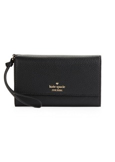 Kate Spade New York Leather Blend Wristlet