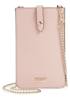 kate spade new york leather iPhone crossbody bag