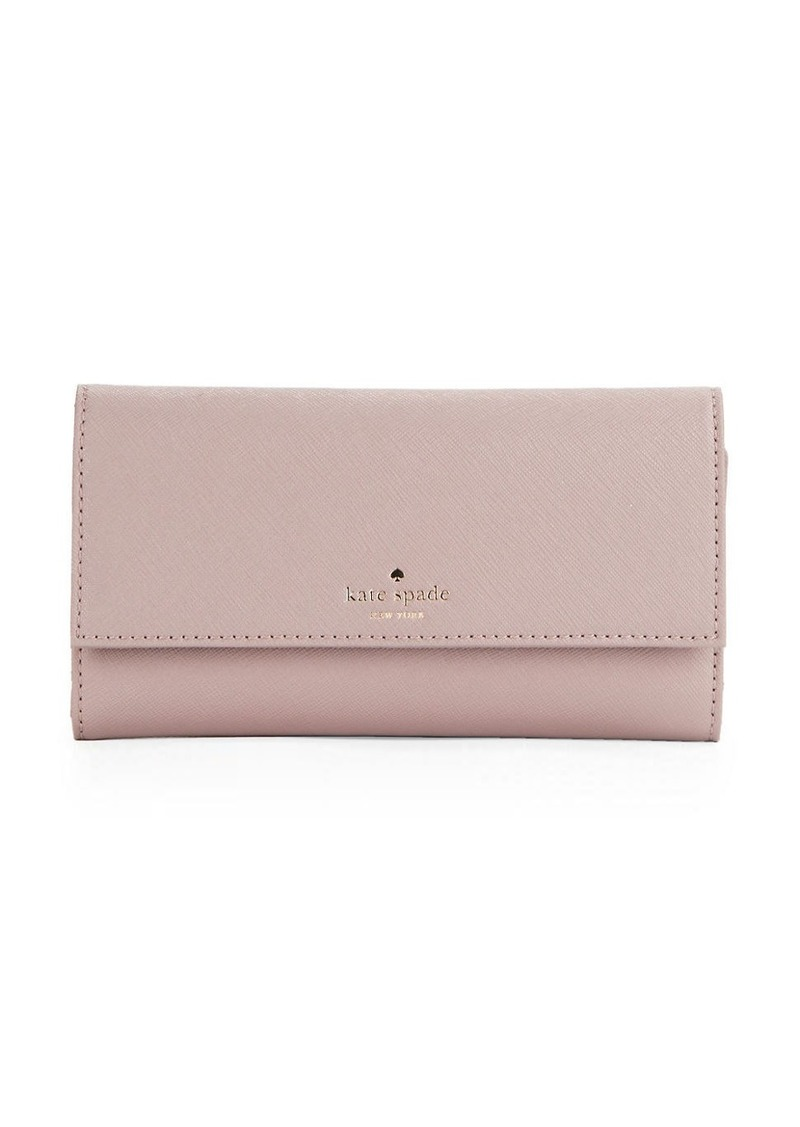 KATE SPADE NEW YORK Leather Wallet and iPhone Case