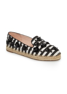 kate spade new york leigh embellished espadrille flat (Women)