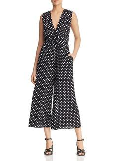 kate spade new york Lia Dot-Print Jumpsuit