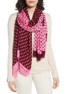 kate spade new york lia dot scarf