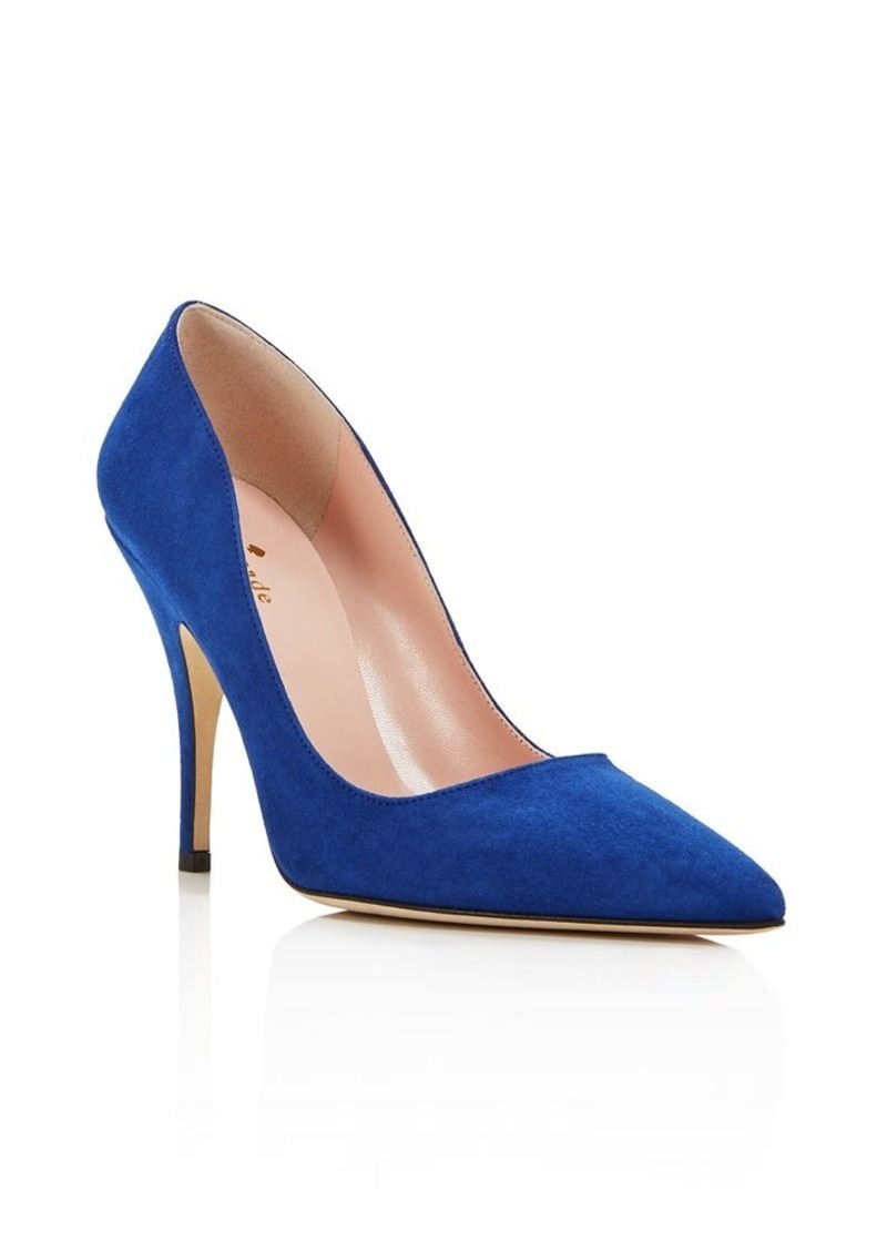 kate spade new york Licorice High Heel Pointed Toe Pumps