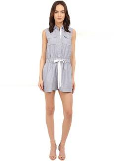 Kate Spade New York Linen Stripe Romper