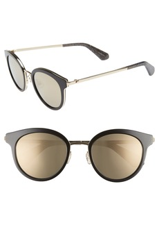 kate spade new york lisanne 50mm special fit round sunglasses