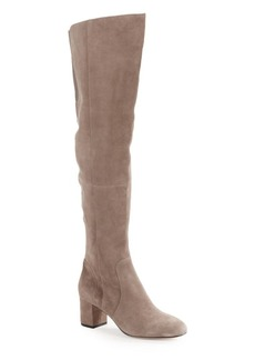 Kate Spade New York Lora Block Heel Suede Boots