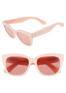 kate spade new york 'lorelle' 53mm cat eye sunglasses