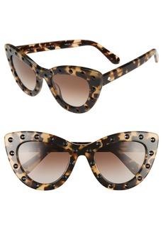 kate spade new york 'luanns' 50mm cat eye sunglasses