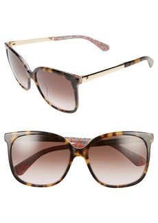 kate spade new york mackenzee 57mm Sunglasses