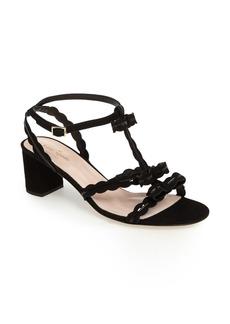 kate spade new york madea strappy scalloped sandal (Women)