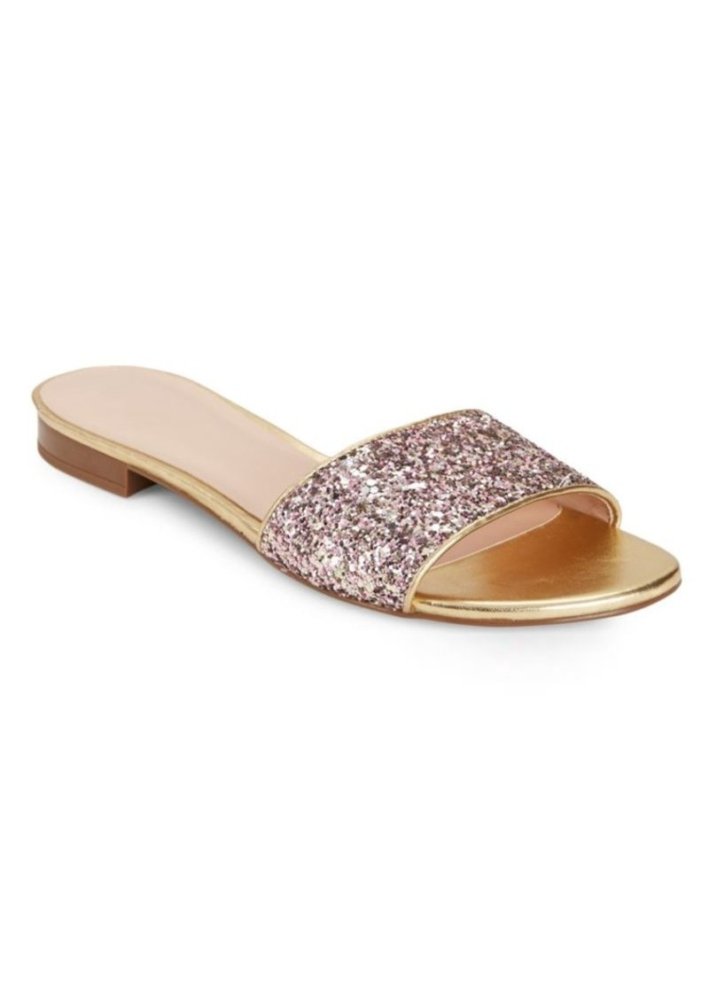 On Sale today! Kate Spade Kate Spade New York Madeline Glitter Slides a8b4fa5b2