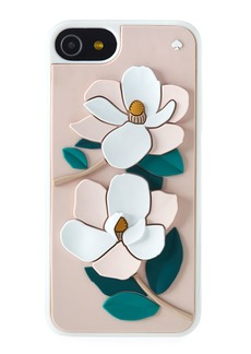 kate spade new york magnolia silicone iPhone® 7/8 case