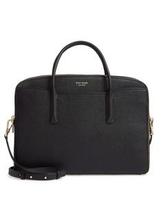 kate spade new york margaux leather universal laptop bag