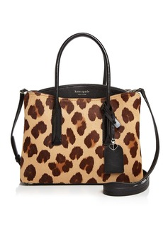 kate spade new york Margaux Medium Mixed-Media Satchel