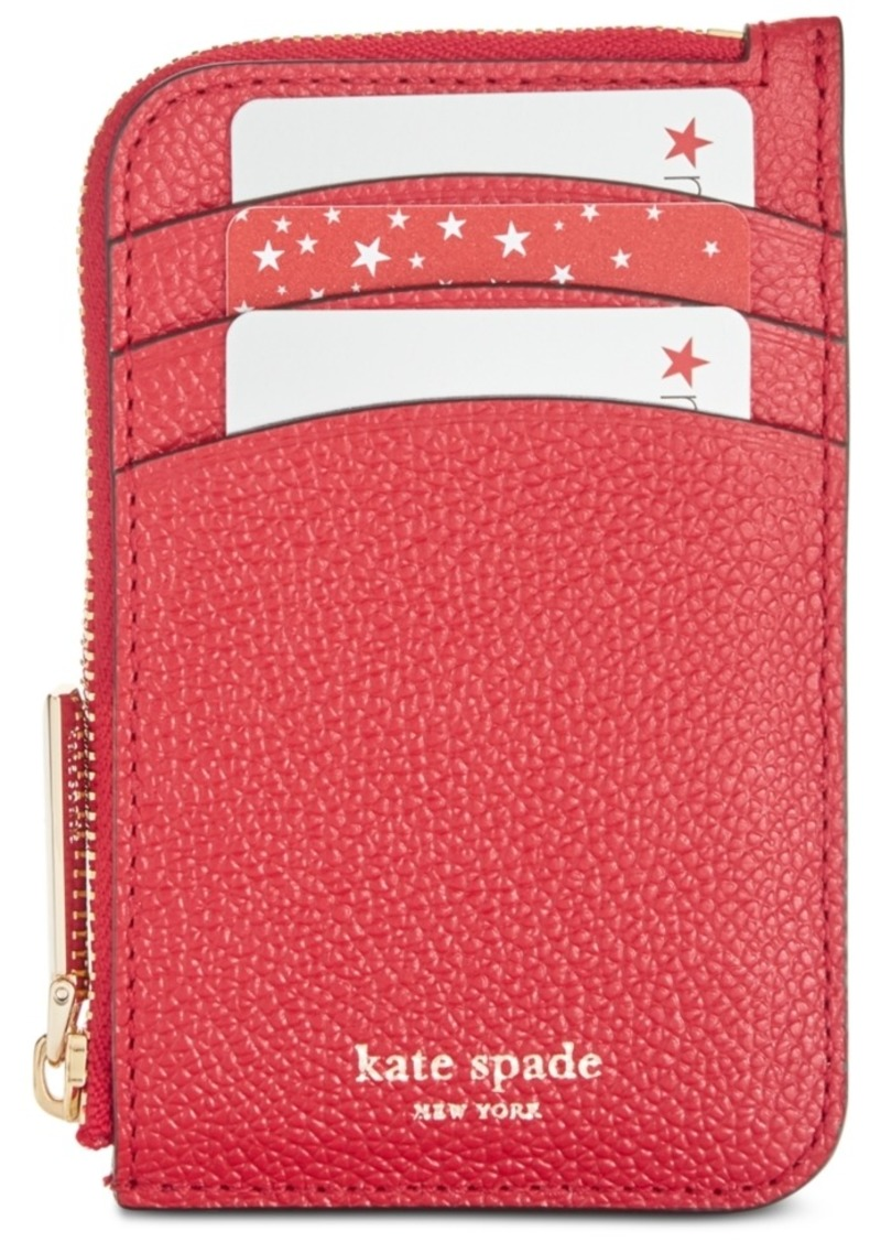 Get Up To 70 On Kate Spade Burgess Court Card Holder Case Glitter Silver Pink When You With Reebonz United States Become A Member