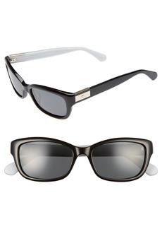 kate spade new york marilee 53mm Polarized Sunglasses