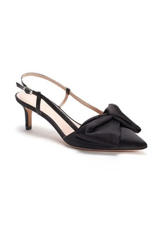 kate spade new york marseille bow pointed toe slingback pump (Women)