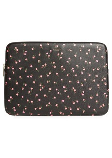 kate spade new york meadow floral universal laptop sleeve