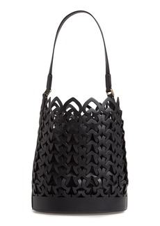kate spade new york medium dorie leather bucket bag