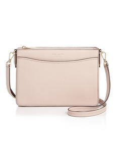 kate spade new york Medium Leather Clutch Crossbody