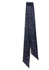 kate spade new york medium night sky skinny silk scarf
