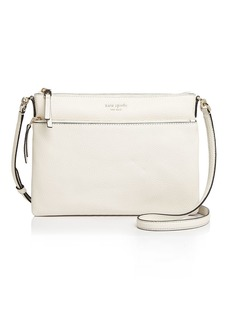 kate spade new york Medium Pebbled Leather Crossbody