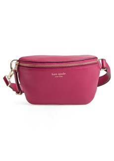 kate spade new york medium polly leather belt bag