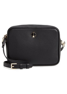kate spade new york medium polly leather camera bag